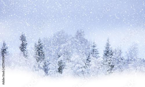 Fotomural Snowing