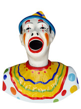Carnival Feed The Clown Figure...
