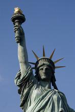 Statue Of Liberty In Odaiba, Tokyo, Japan