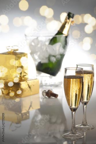 Fotografie, Obraz  champagne
