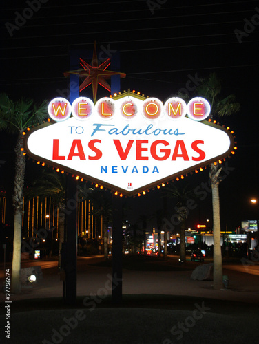 Tuinposter Las Vegas Welcome to Las Vegas 02