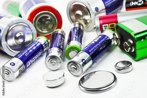 Obraz na plátně Batterien