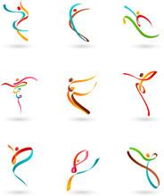 Dancing Figures - 3