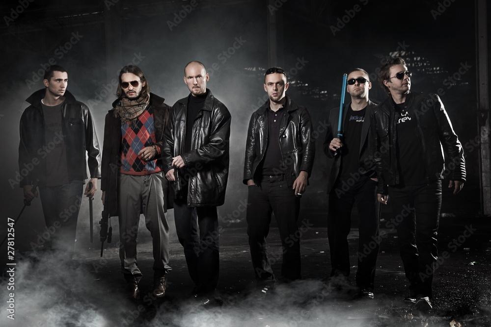 Fototapeta Gangsters