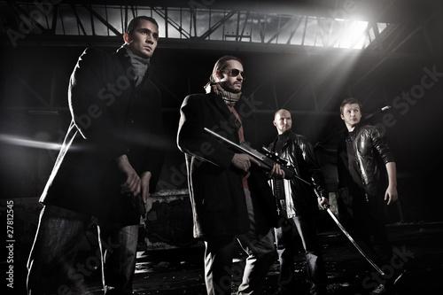 Fotografie, Tablou  Gangsters