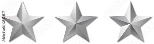 Obraz metal reflect militar stars - fototapety do salonu