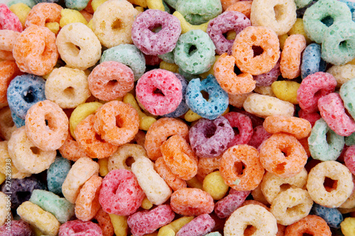 Photo Cereal colors