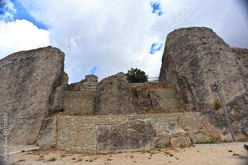 Fototapeta  Remains of norman castle