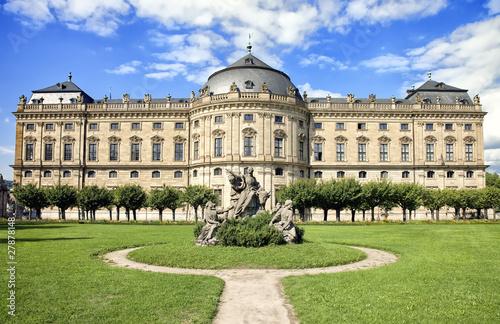 Wurzburger Residenz, Wurzburg Residence Tapéta, Fotótapéta