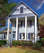 Suburban Single Family Home Folk Victorian Greek Revival USA