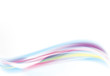 Abstract Vector Wave blue and pink color