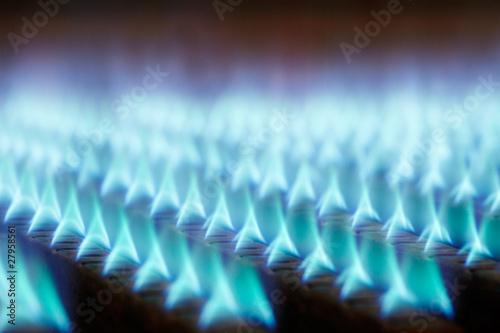 Fotografie, Obraz  gas flames 02