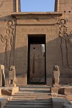 Entrée Du Temple De Philae