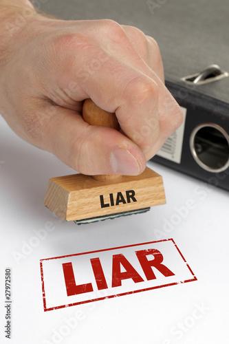 Fototapety, obrazy: Liar