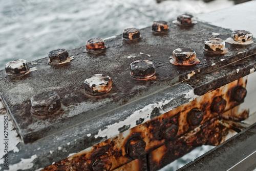 Fotografía  oxidized by the sea