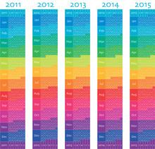 2011, 2012, 2013, 2014, 2015 V...
