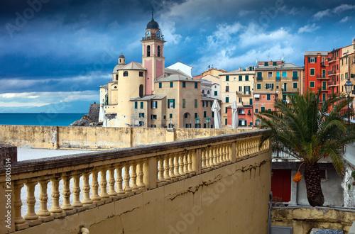 Photographie  Italian Riviera - Camogli promenade