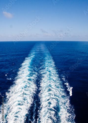 Fotografie, Obraz  Ships Wake