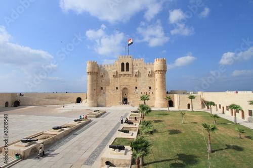 Citadel of Qaitbay in Alexandria, Egypt Canvas Print