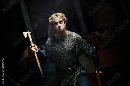 Photo  Medieval Warrior