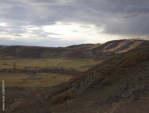 Fotografie, Obraz  High altitude ranch