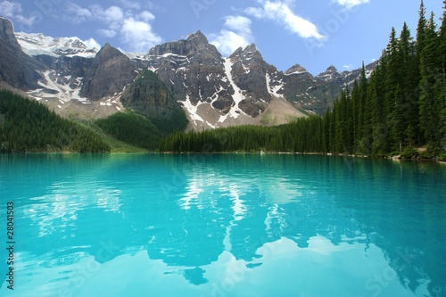 moraine lake Canvas-taulu