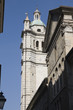 Genoa Cathedral belltower - St. Lawrence detail, Italy