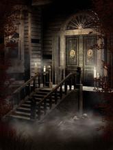Drzwi Do Nawiedzonego Domu