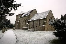 SULLINGTON CHURCH IN WINTER