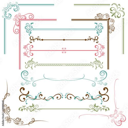 Fotografía  Design elements set