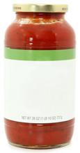 Blank Label Jar Of Speghetti S...