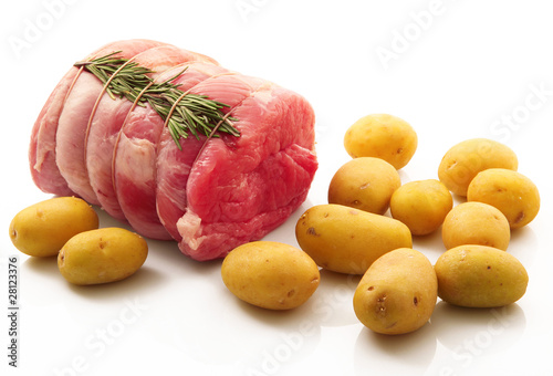 Photo  arrosto con patate