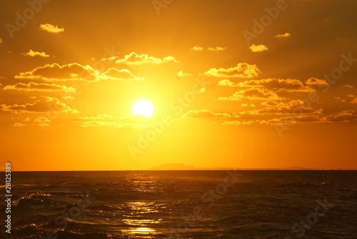 Foto-Rollo - Sonnenuntergang
