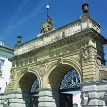 Brewery Gate, Plzen (Pilsen), ...
