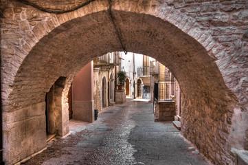Fototapeta Alleyway. Palo del Colle. Apulia.