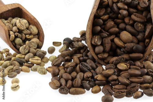 Canvas Prints Coffee beans café en grains