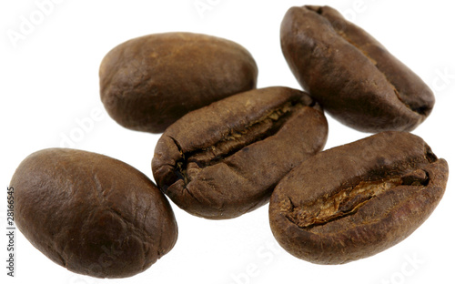 Papiers peints Café en grains quelques grains de café