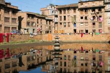 Bhaktapur Urban Scene, Nepal
