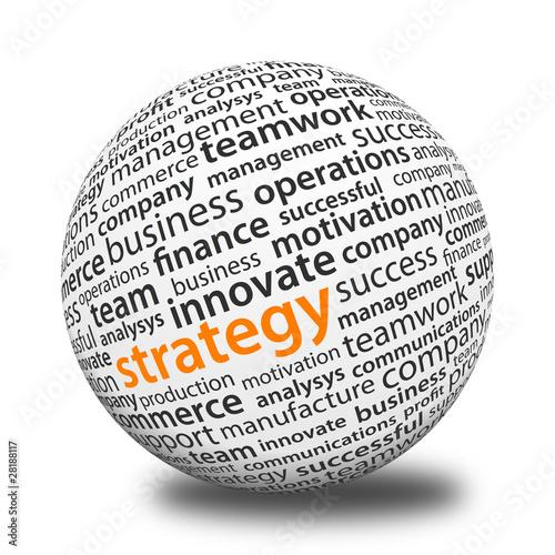 Fotografie, Obraz  Word Ball - Strategy