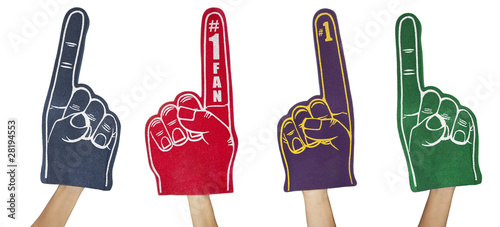Photo  Fan Foam Fingers