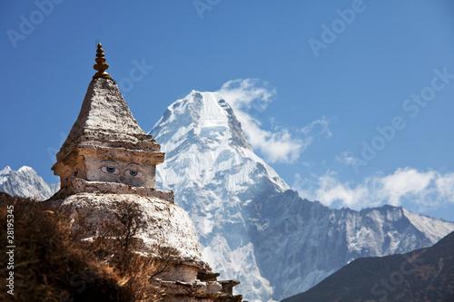 Tuinposter Nepal Stupa