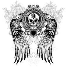 T-Shirt Print Wings