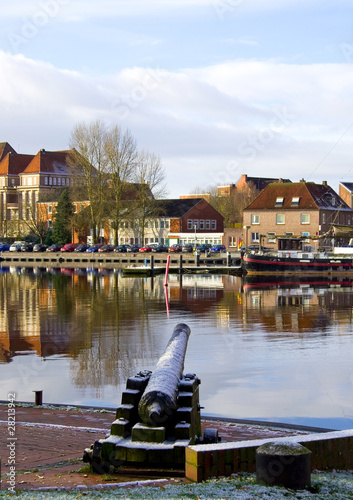 Photographie Hafen in Emden - Nordsee