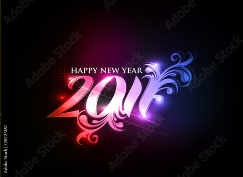 Poster  new year design