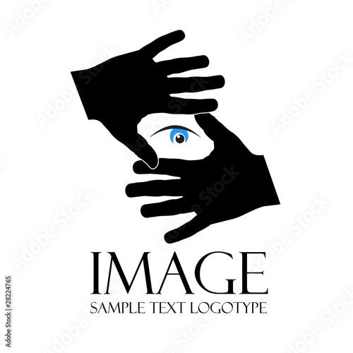 Logo look image, photographer ( vector)