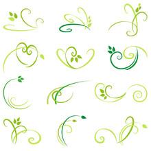 Gras - Filigrane Muster