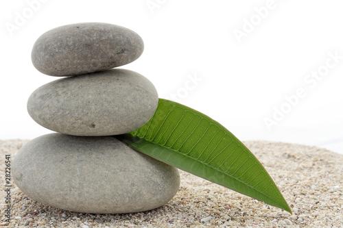 Photo sur Plexiglas Zen pierres a sable décoration zen