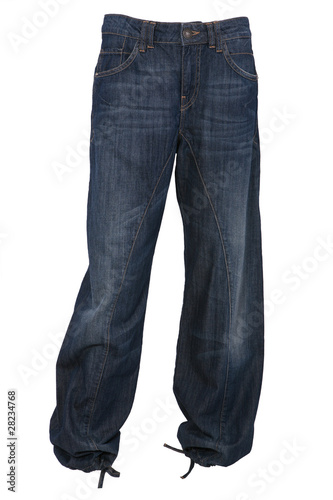 Photo Baggy jeans trousers