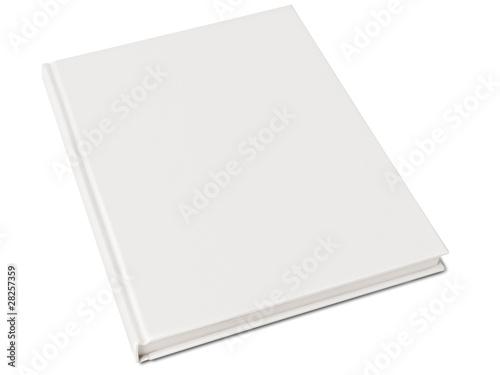 Fotografie, Obraz  Blank hardcover book