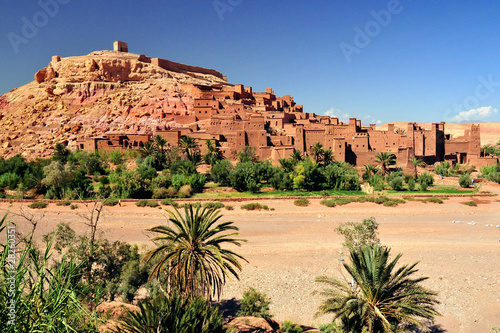 Foto auf Leinwand Marokko Ouarzazate Marocco città set del film Il Gladiatore